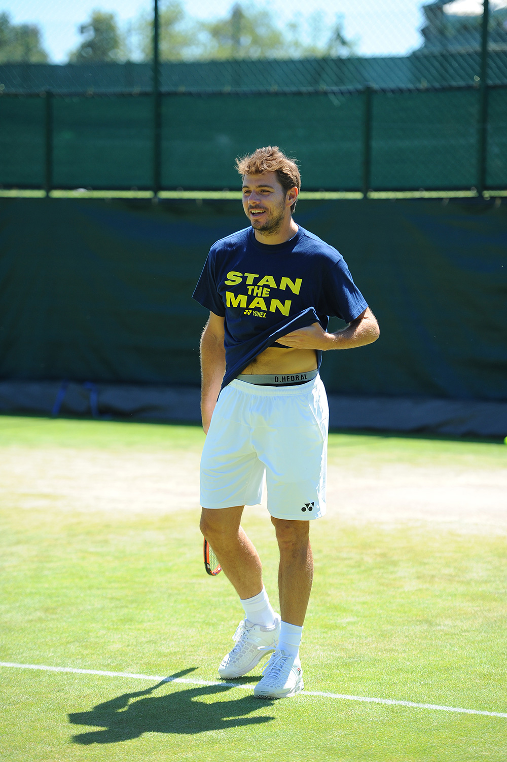 Tennis Star Stan Wawrinka in D.Hedral