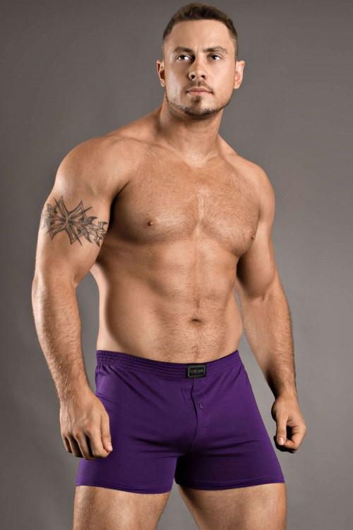 doreanse-1511-loose-boxer-brief-purple-front