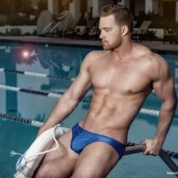 Brief Distraciton featuring Armando Adajar shooting Ergowear Swimwear