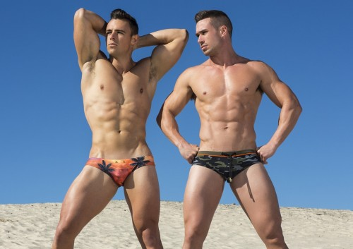 Marcuse Sunset and Army boy