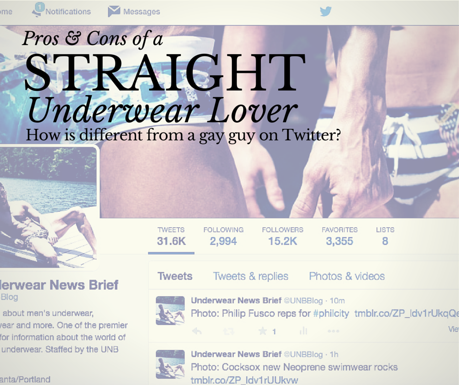 Straight Underwear Lover on Twitter