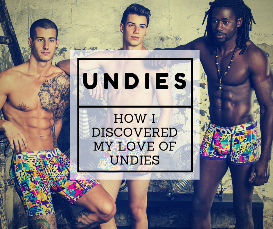 How I Discovered My Love of Underwear Series