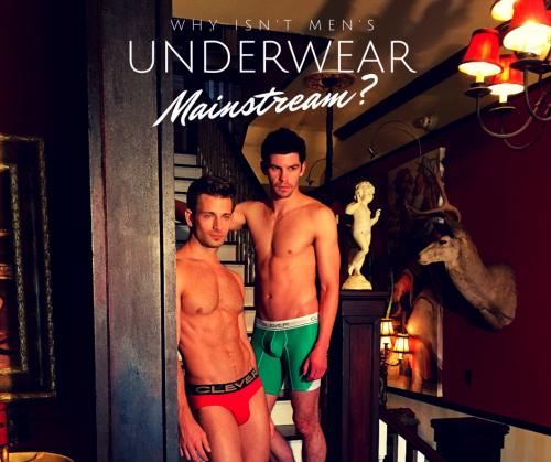 Why isn't men's underwear mainstream-