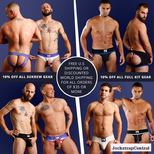 Sukrew and Full Kit Gear Sale at Jockstrap Central
