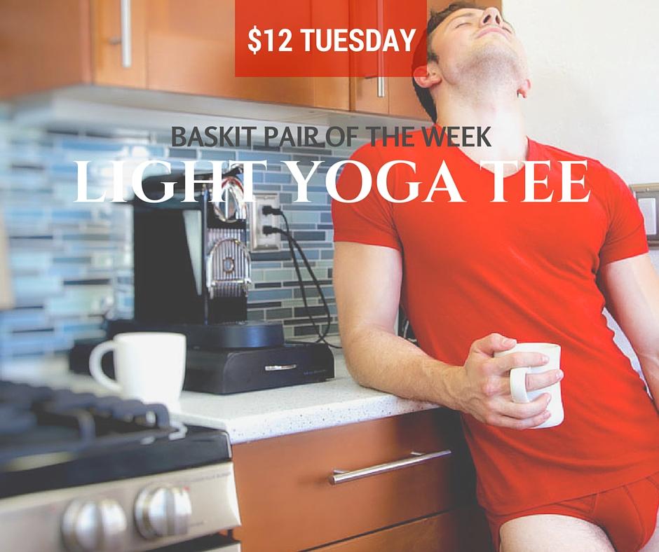 Baskit $12 Tuesday Light Yoga Tee