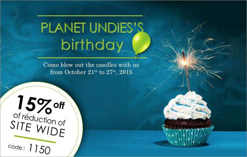 Planet Undies Celebrates 12 Years