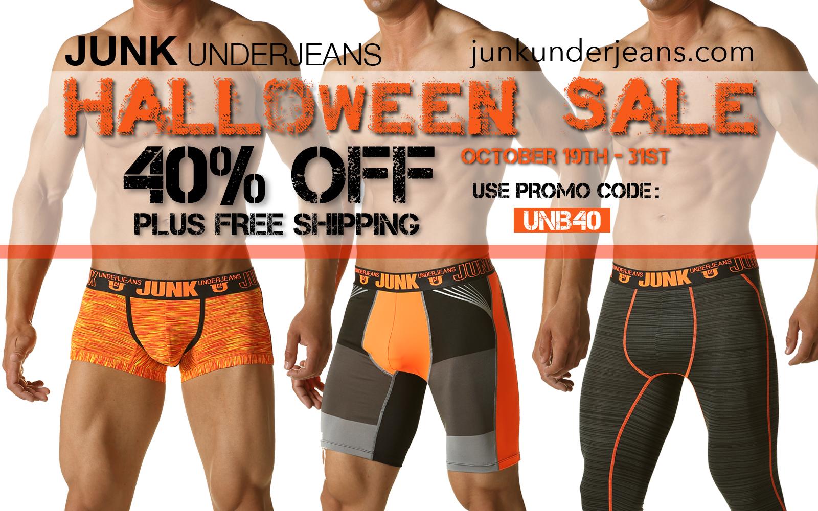 Halloween Sale at JunkUnder Jeans