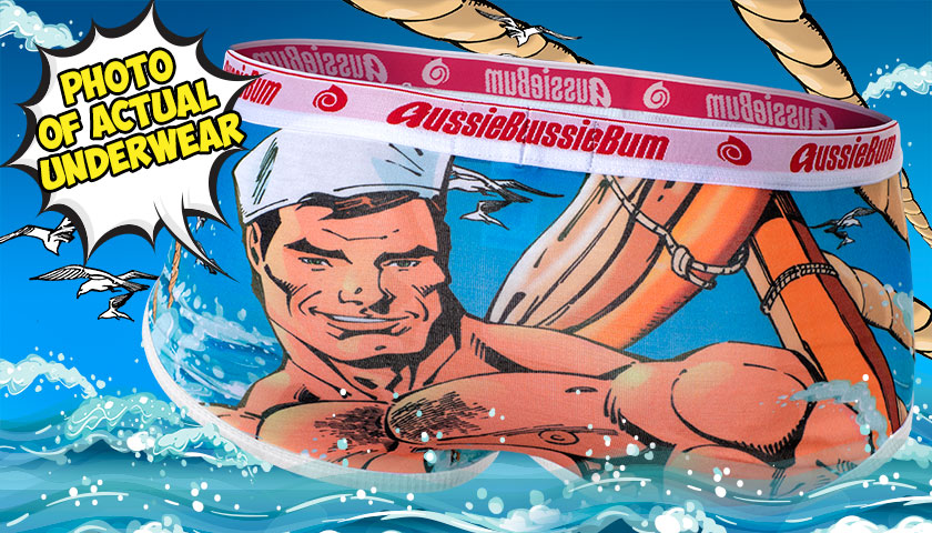 aussieBum wants you to be a Super Hunk
