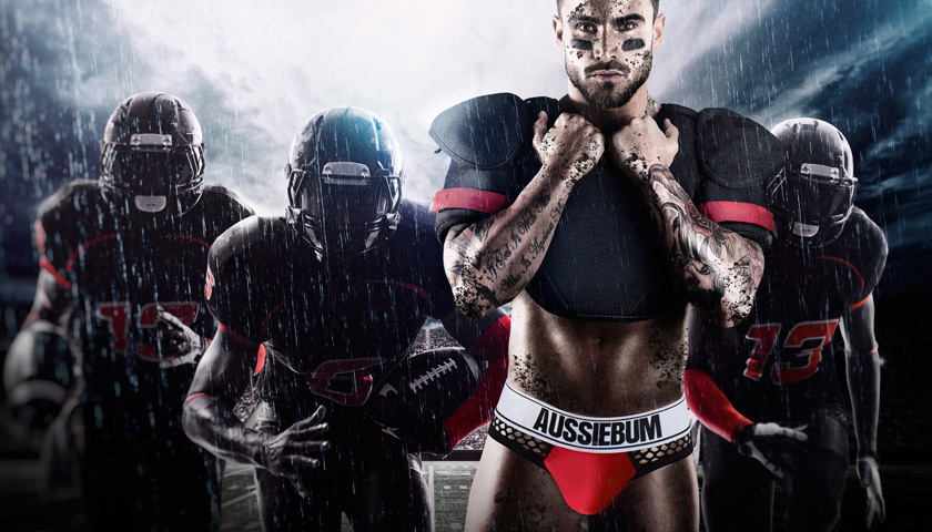aussieBum gives you a Punch!