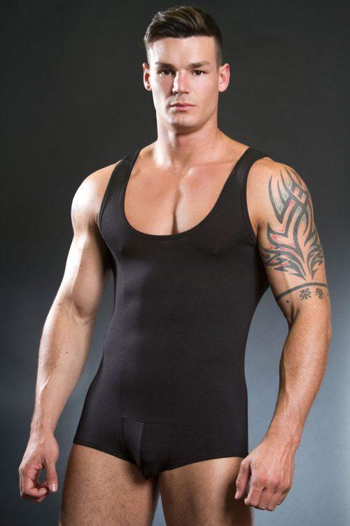 doreanse-3010-pouch-body-suit-black-front