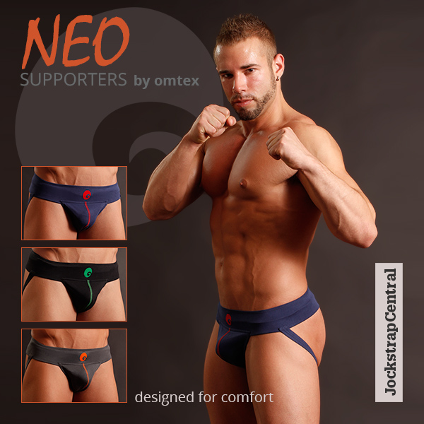 Just Arrived at Jockstrap Central: Neo Comfort Supporters by Omtex