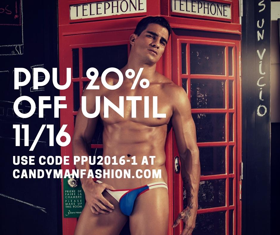 NEW PPU 20% off at Candyman Fashion