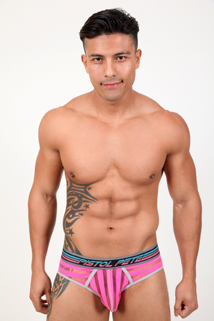 Show off in the Pistol Pete Chromatic Brief