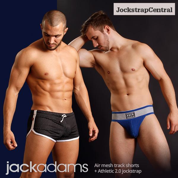 It's Jack Adams Week at Jockstrap Central with new Jocks and Shorts