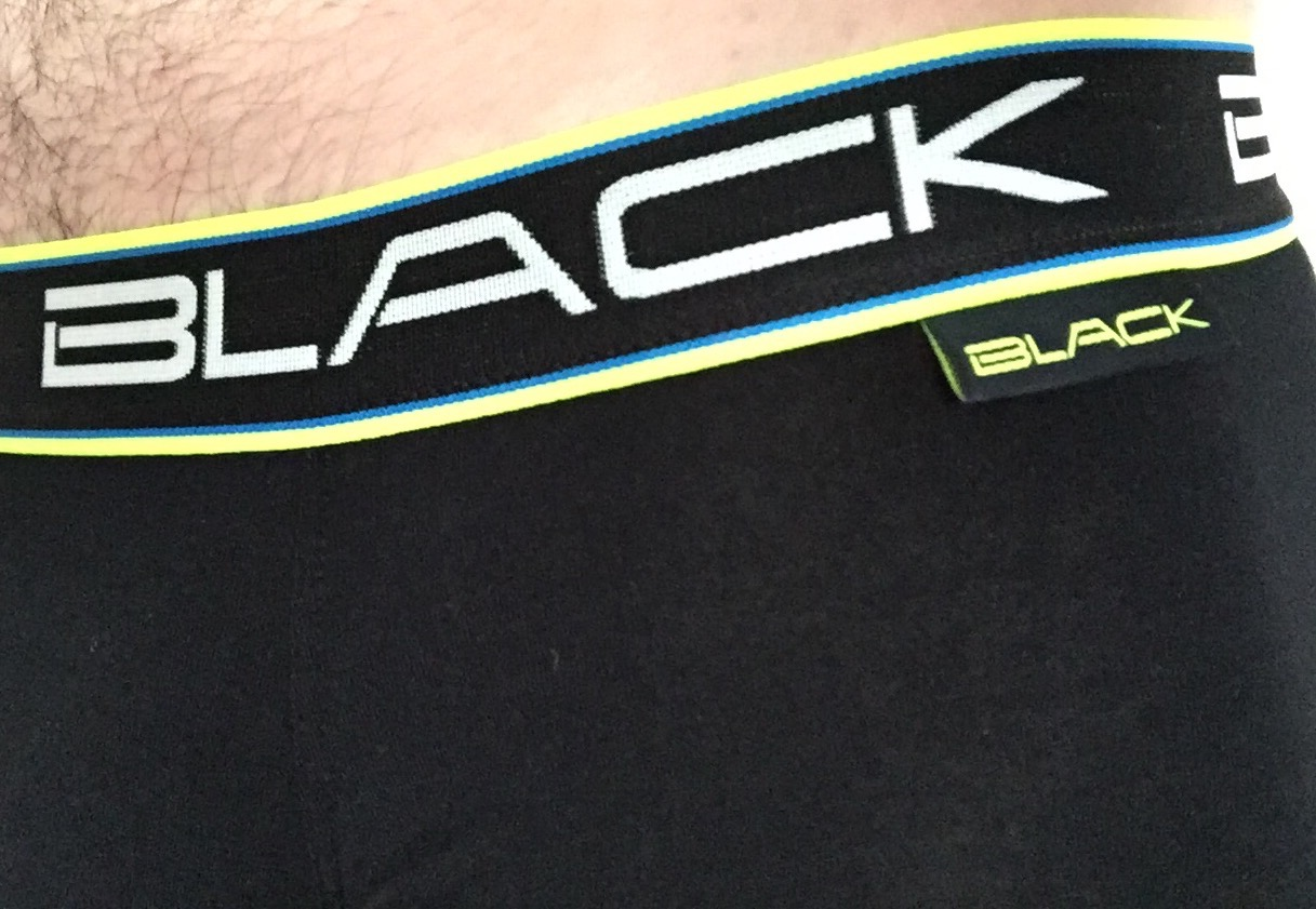 Review Andrew Christian Black boxer Brief