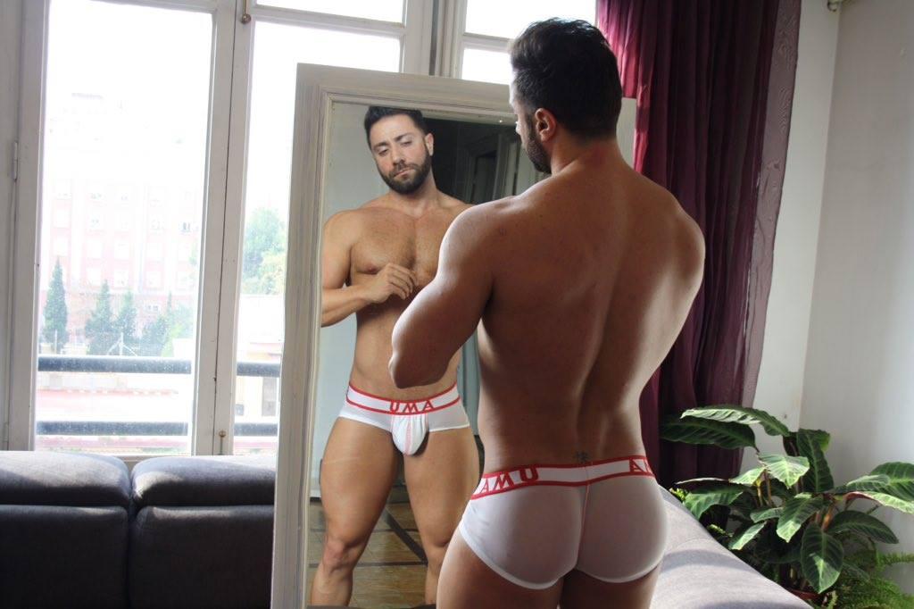 AMU Underwear featuring Fran Manent