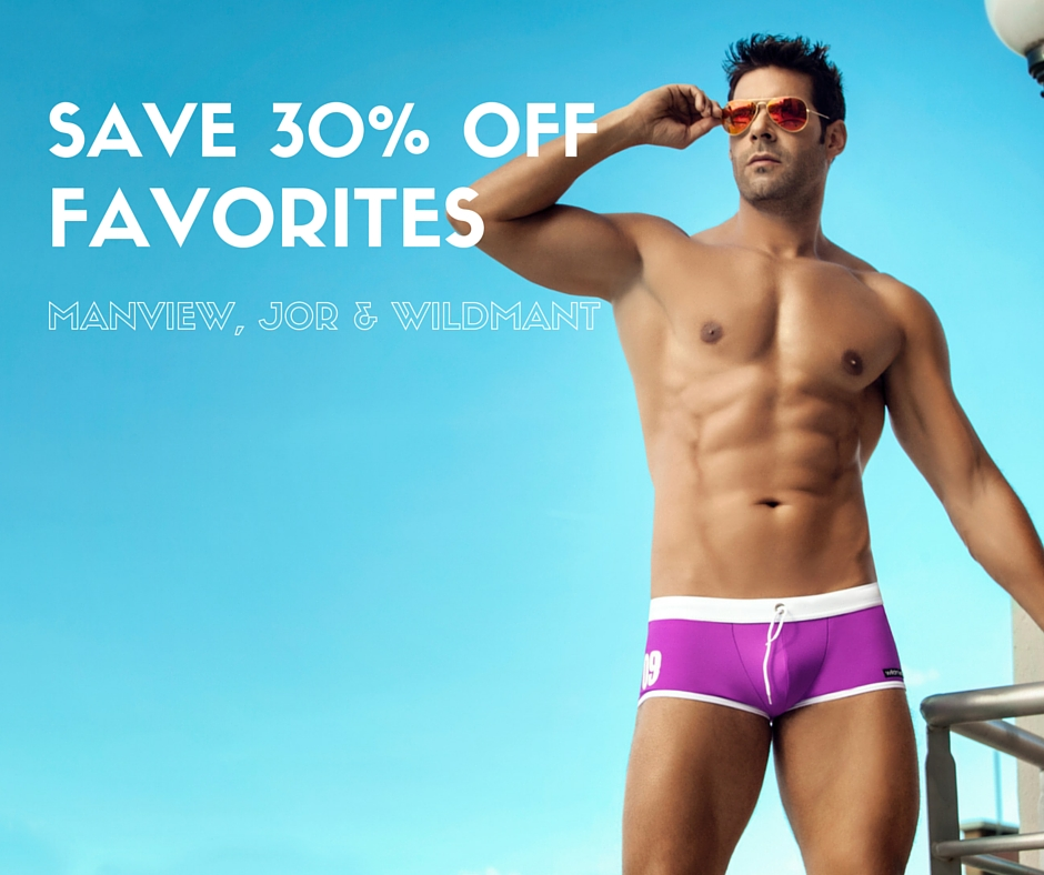 Save 30% off JOR, Manview and WildmanT