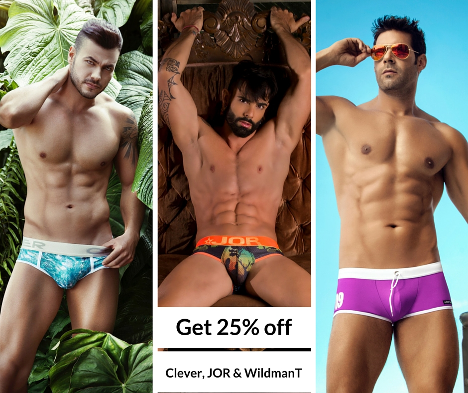 Get 25% off Clever, JOR and WildmanT