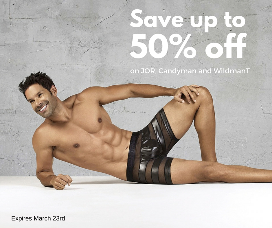 Save up to 50% off on Candyman, JOR and WildmanT