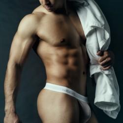 Armando Adajar Shoot Wood Underwear