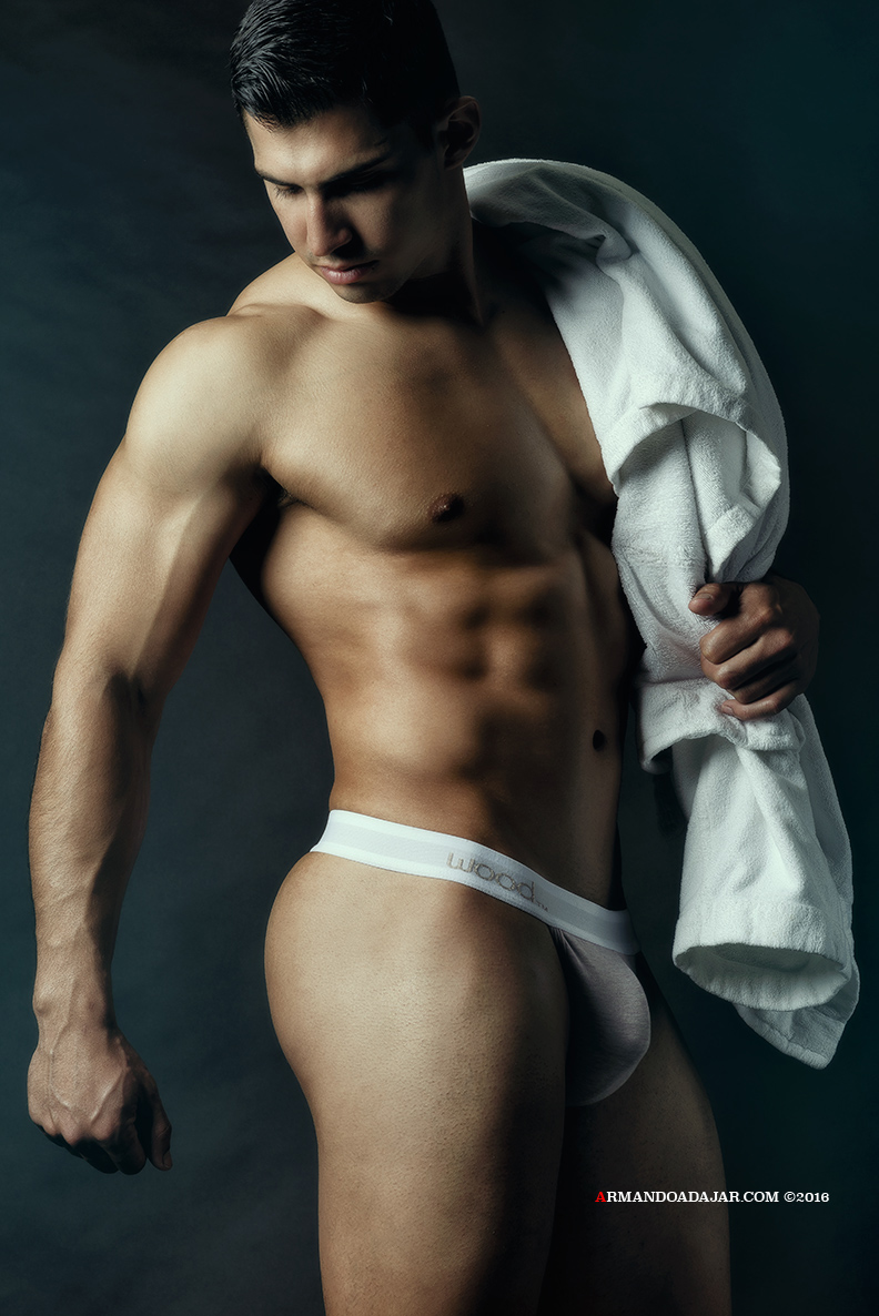 Armando Adajar Shoot Wood Underwear