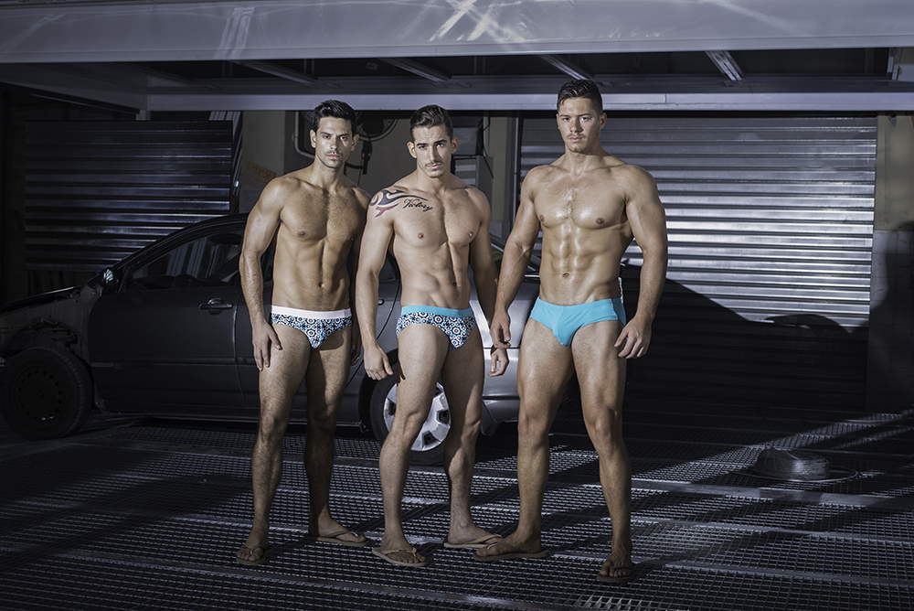 Brief Distraction featuring Egick Swimwear