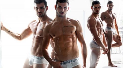 Photographer Karim Konrad with model Romain wearing Garcon Model underwear 3