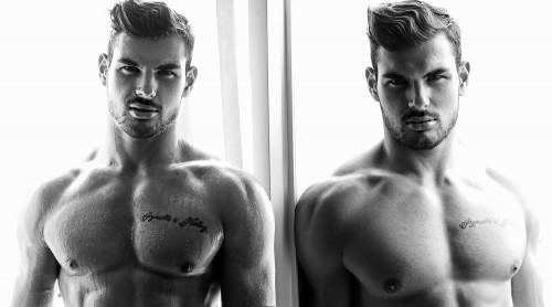 Photographer Karim Konrad with model Romain wearing Garcon Model underwear 4