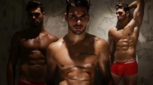 Photographer Karim Konrad with model Romain wearing Garcon Model underwear 5