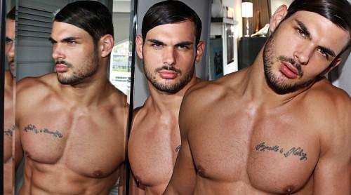 Photographer Karim Konrad with model Romain wearing Garcon Model underwear 6