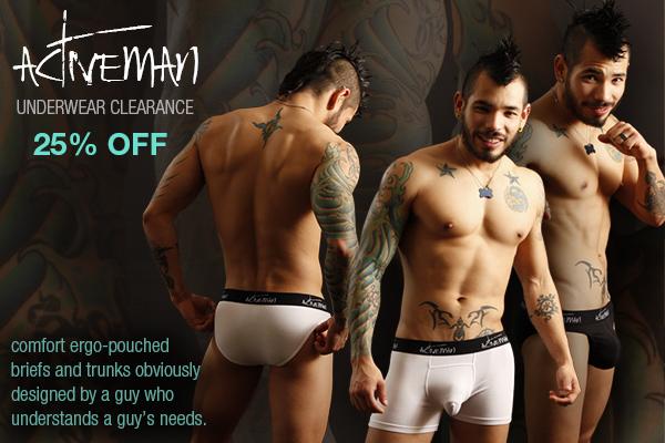 Jockstrap Central - Activeman Underwear Clearance Sale and Sukrew Jockstrap and Underwear Clearance Sale