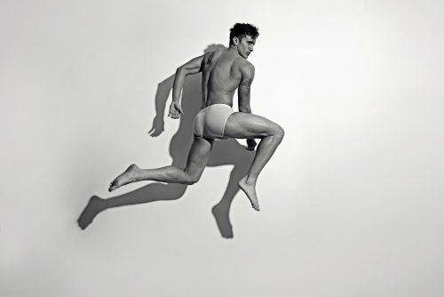 Barret Coates by Karim Konrad for Fashionably Male Sporting Garcon Model underwear 3