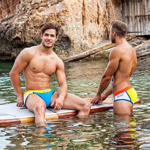 Brief Distraction featuring BCNU Swimwear