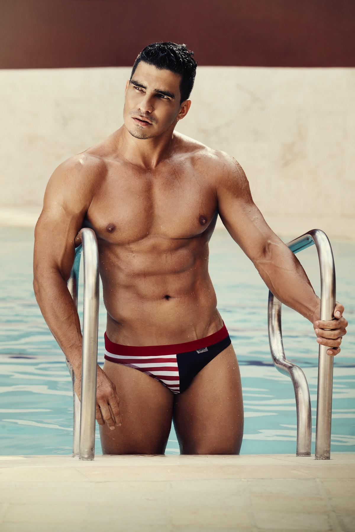 Get wild with Candyman Swimwear