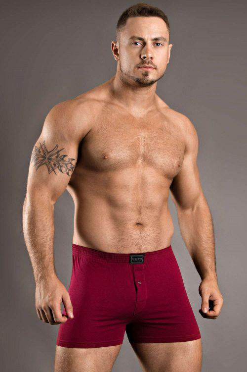 doreanse-1511-loose-boxer-brief-claret-red-front