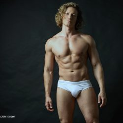 Armando Adajar Shoots Wood Underwear