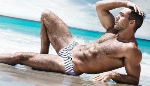 Swimwear Sunday Aussiebum Luxe Line Snapper Swim Brief
