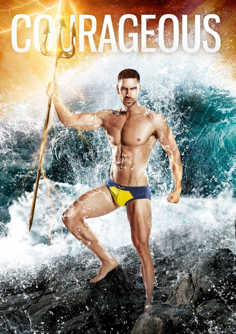 Swimwear Sunday - Be a Hero in BCNU Utility Wear