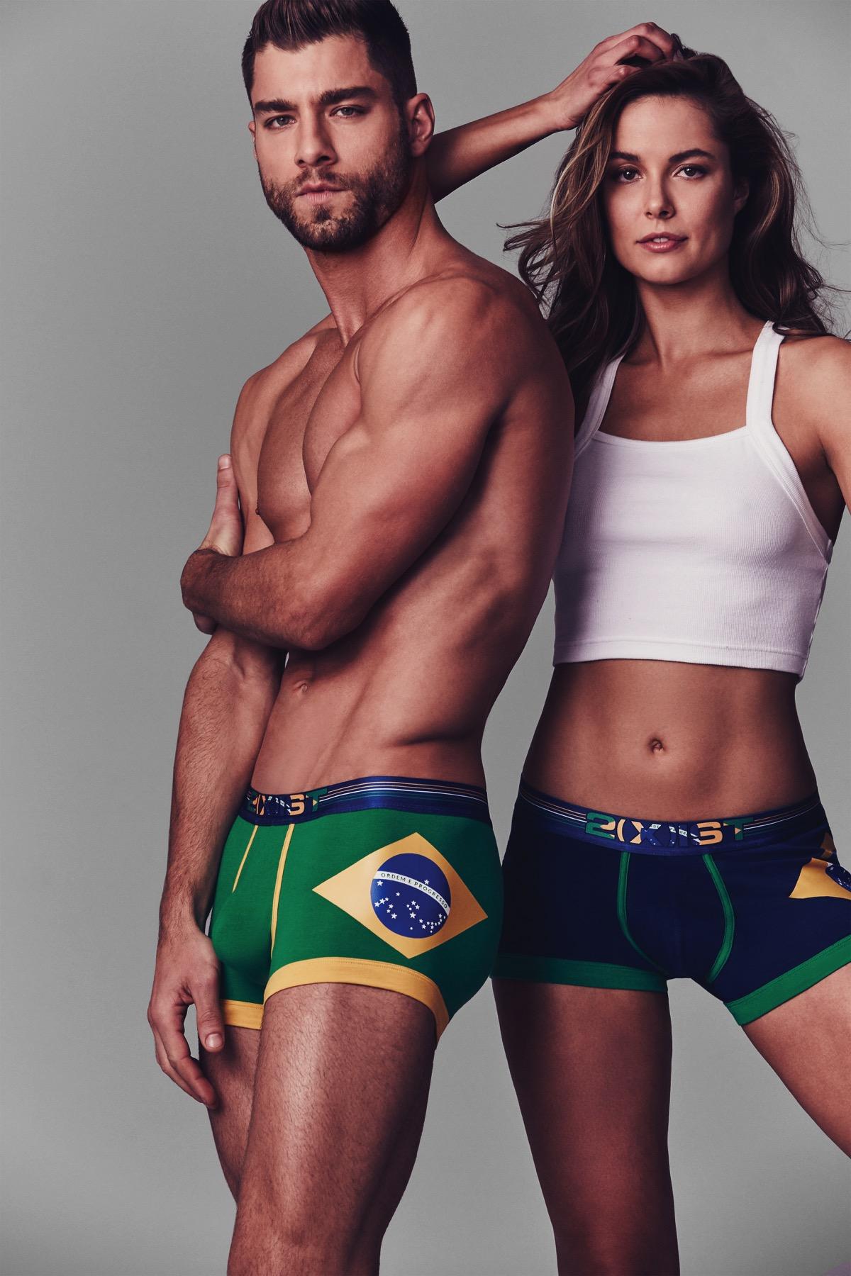 Go Brazil - 2(X)ist New Brazil Collection