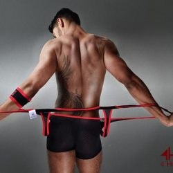 Fetish Friday – 4 Hunks Singlets to show off In!