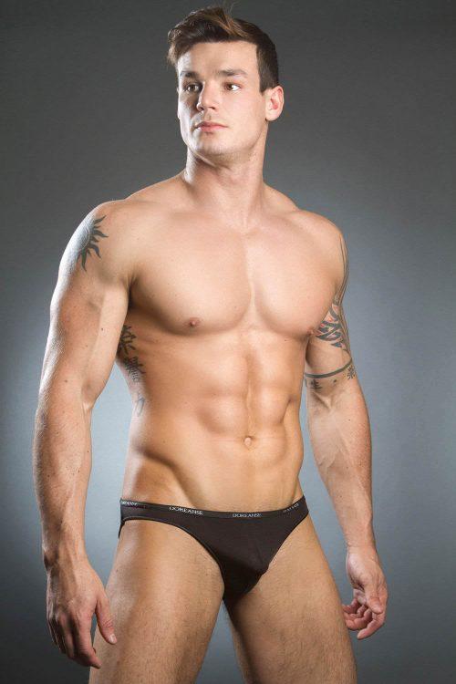 doreanse-1395-aire-bikini-brief-black-front
