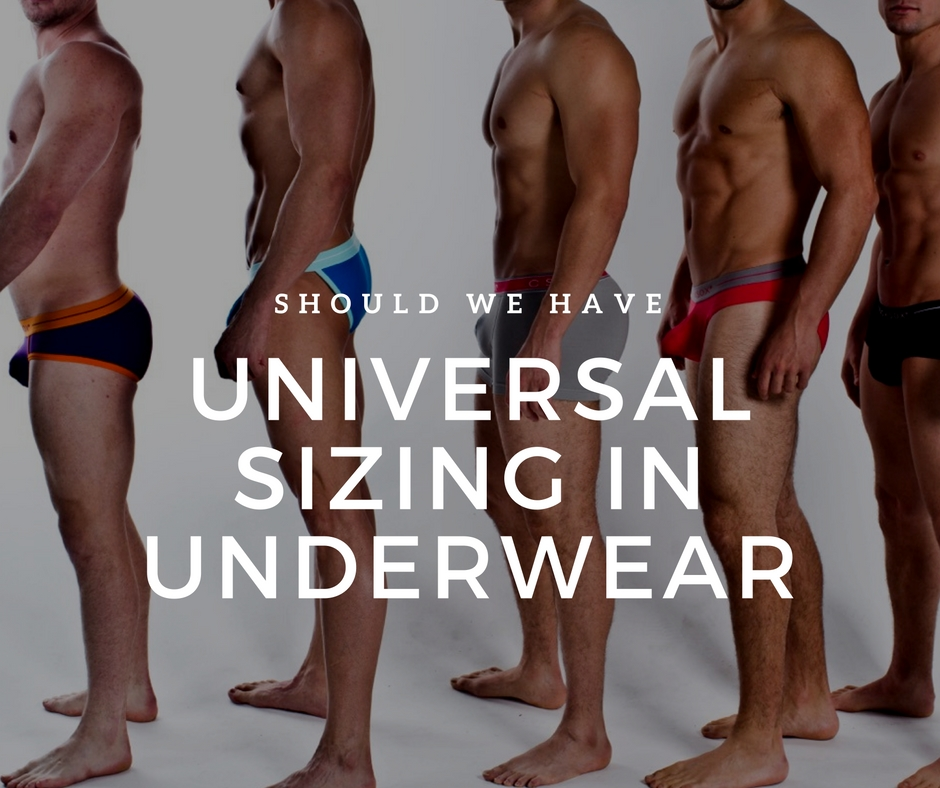 Should there be standard sizes in Underwear?