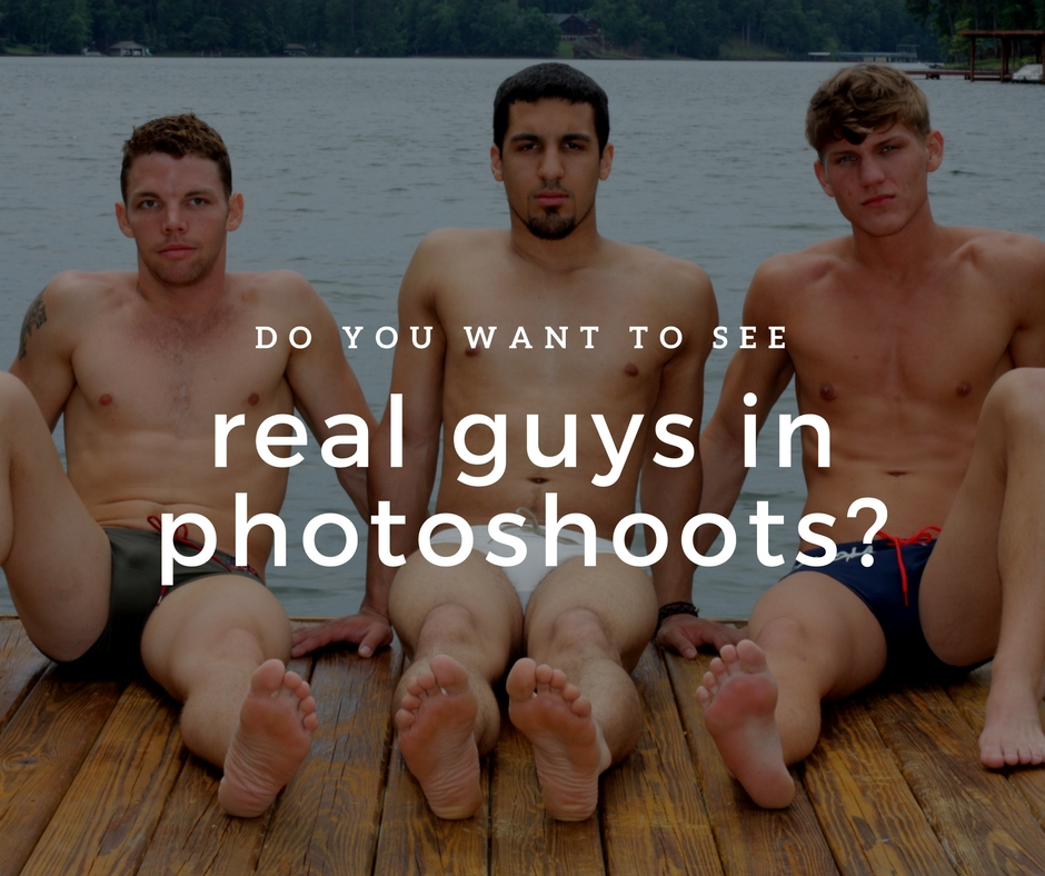 Want More Real Guys Photo Shoots?
