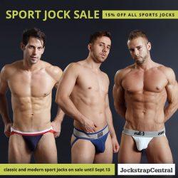 Sports Jockstrap Sale at Jockstrap Central