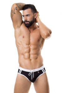 JOR Sport Swim Thong 0355 Black