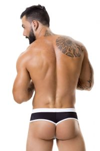 JOR Sport Swim Thong 0355 Black Back