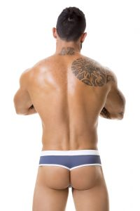 JOR Sport Swim Thong 0355 Gray Back