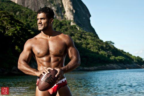 Photo by Roberto Chiovitti - Model Fellipe Florêncio - Swimwear Little Rok - Shot in Rio De Janeiro