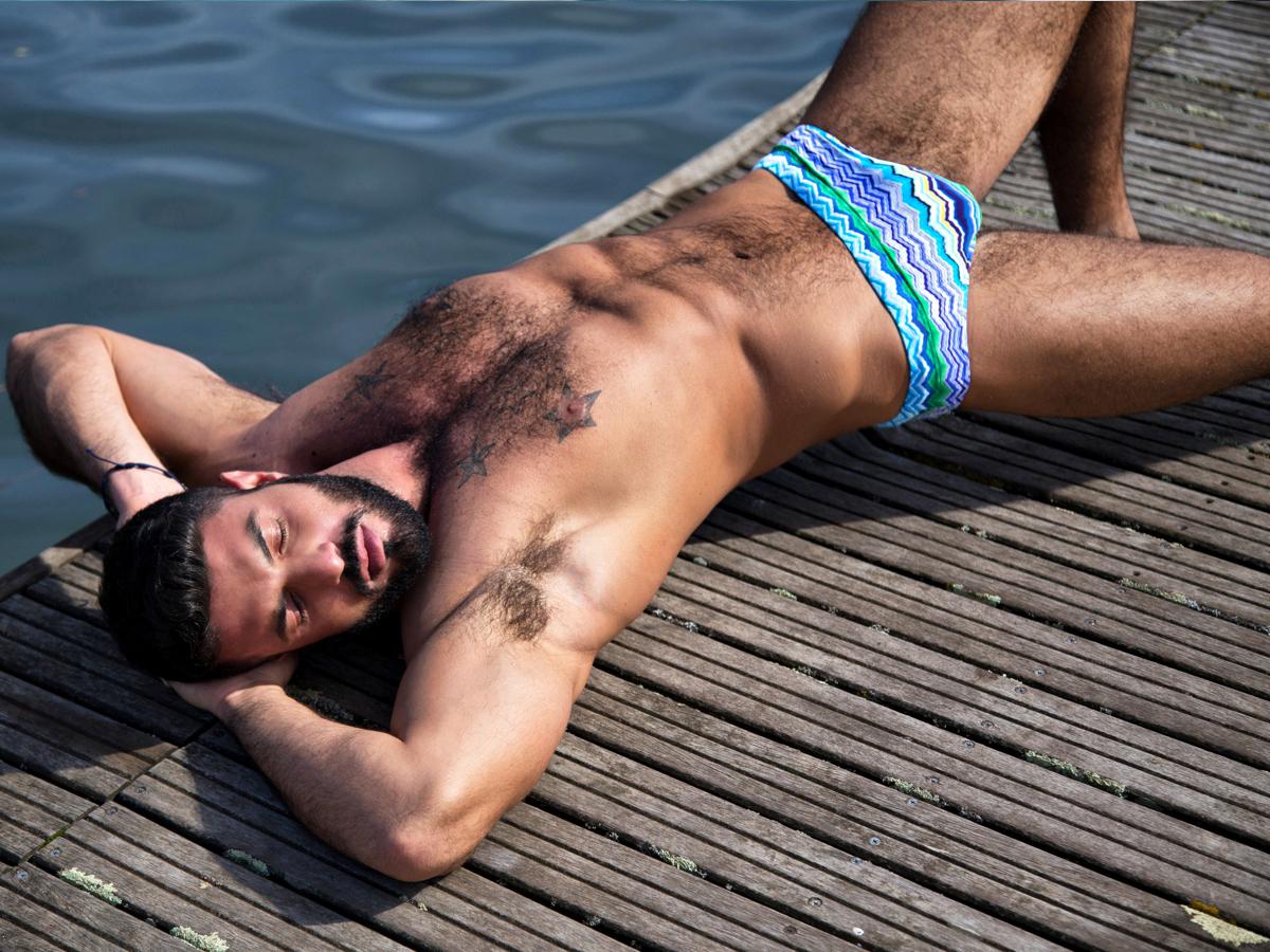 WAPO Wear featuring Photog Roberto Viccaro and Model Vincenzo Lamberti