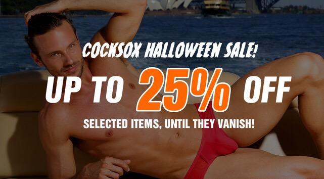 Save at Cocksox Halloween sale